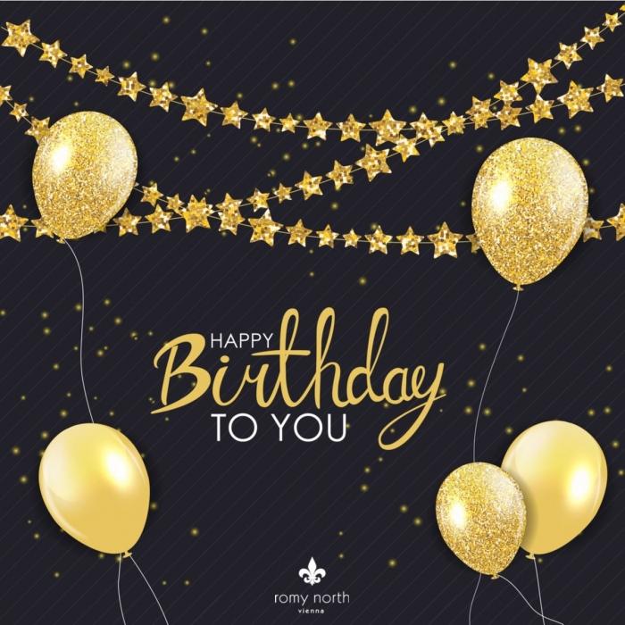 Geburtstagskarte in Form eines Gutscheins von Romy North